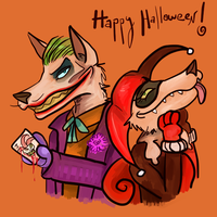 Happy Halloween! by Kittengoo