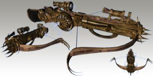 Tesla Crossbow by TKingArt