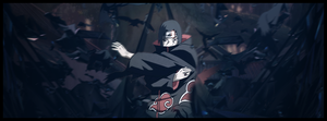 Capa Timeline Itachi by willsouza