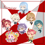 Kiznaiver Chibis by Saby-Cat
