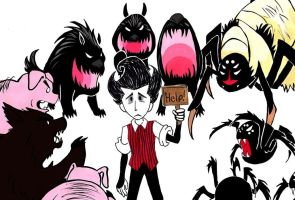 Caught In The Middle Of A Dispute by FullmetalDevil