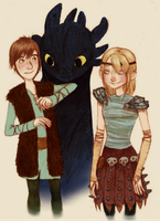 how to train your dragon by mayday-daywalker