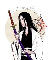 Unohana by nickaydewitt
