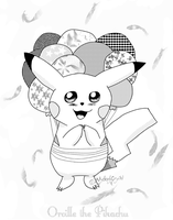 Orville the Pikachu by MelodyCrystel