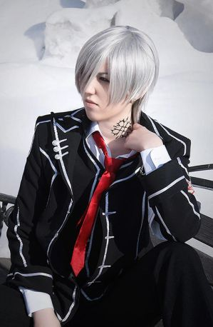 of me cosplaying as Zero Zero Vampire Knight Cosplay