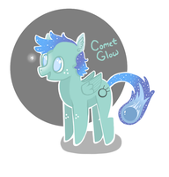 Comet Glow! OC (recolored) by JellyBeanBullet