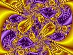 Purple and Gold by Thelma1