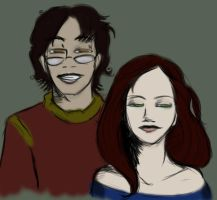 Lily and James by ellestril