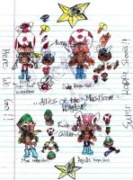 Super KoopaStools and their Powers by MorphiusX
