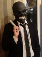 Black Mask Cosplay Preview by Zaurask