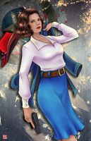 Agent Peggy Carter by TyrineCarver