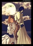 Orihime and ulquiorra - bleach by Tice83