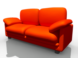 a couch by chirito