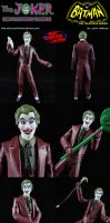 Custom Cesar Romero Joker Action Figure by MintConditionStudios