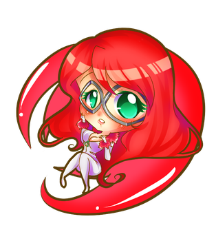 Chibi Kitty Leily by Princessmikan by DJWill