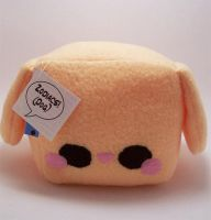 Dog Butter Cube Plush by quacked