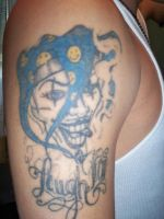 Laugh now jester by soldiersinktattoos