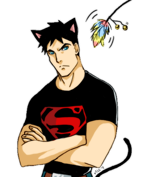 Superboy by Mittenzz