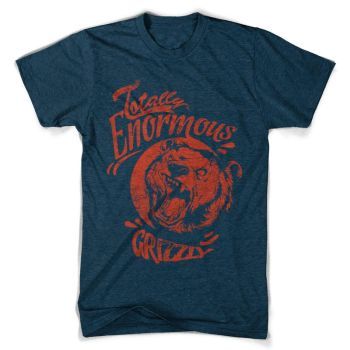 Enormous Grizzly by tshirt-factory