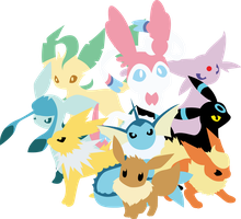 eeveelutions by Andie200