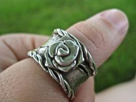 Sterling Silver Ring 2 by sing2mi
