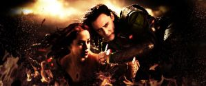 Loki-Safeguarding the Shield Maiden by stak1073