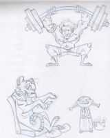 sketches... by friend-of-totoro