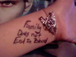 Family Does Not End In Blood by yuffb