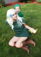 Link and his Mother 04 by HeatherCosplay