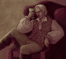 Lucius Malfoy by LucioCrescent