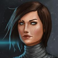 Commander Rose Shepard by gravity-zero