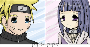 NaruHina Oekaki by fanfiction-fanfare