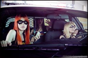 Who let Catwoman drive? by PANattheDisco