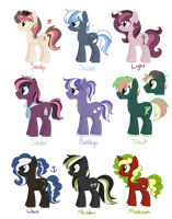 [CLOSED] - Ponies Batch 13 by Featheries