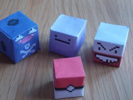 Pokecubes by MunsenTheBiscuit69