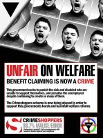 Unfair on Welfare - Claiming is now a Crime by killingfreud