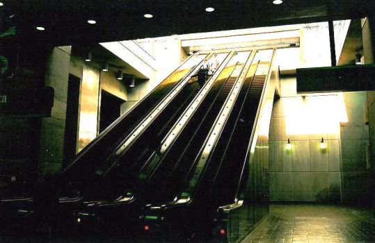 Stairs At the Marta Station by sweetmelissa21