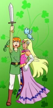070. Cosplay Time: Link and Zelda by Hakui-Kitsune