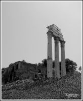Temple of Castor and Pollux by CapnSkusting
