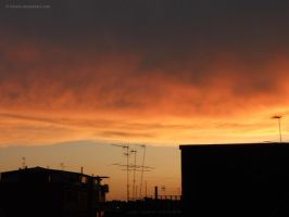 Golden skyline by Rosshi