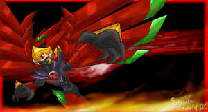 iScribble_Fire Rush by SonicXEmerald