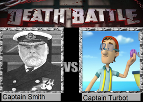 Death Battle - Captain Smith vs. Captain Turbot by MatthewJabezNazarioI