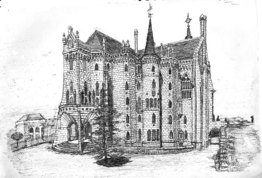 Episcopal Palace of Astorga by Sumple