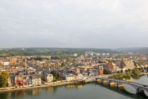 View on Namur from the Citadel-2 by Rea-the-squirrel