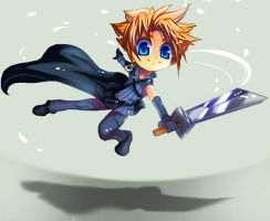 AC Cloud Chibi by jihdo