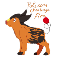 Pokesona Challenge: Fire by Rocket14