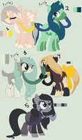 Pony Adopts! by dragonsweater