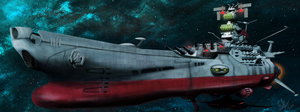 Space Battleship Yamato by Emberspirit