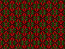 xmas tiled fractal by puddlz