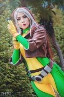 Rogue Cosplay - can I touch you? by xxDeiChAnXDD
